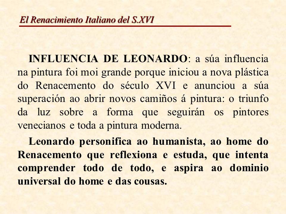 El Renacimiento Italiano del S.XVI VIRXE DAS ROCHAS 1483-86