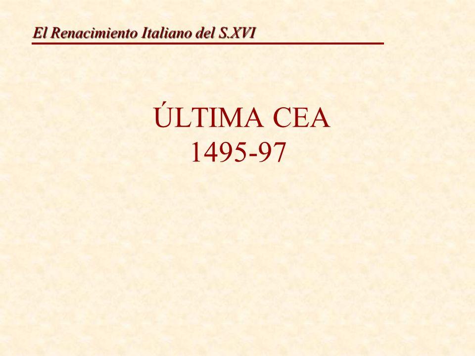 El Renacimiento Italiano del S.XVI Leonardo