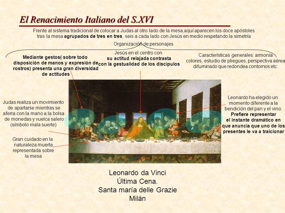 El Renacimiento Italiano del S.XVI Santa Ana, a Virxe e o neno, Óleo sobre táboa1510
