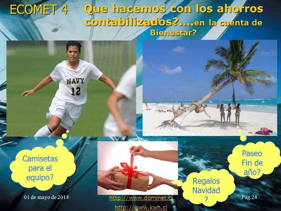 ECOMET 4 01 de mayo de 2014 Documento confidencial http://www.dominet.cl http://www.kwh.cl Pag.25Clientes, Aplicando Eficiencia Energética Agrícola Finis Terrae.