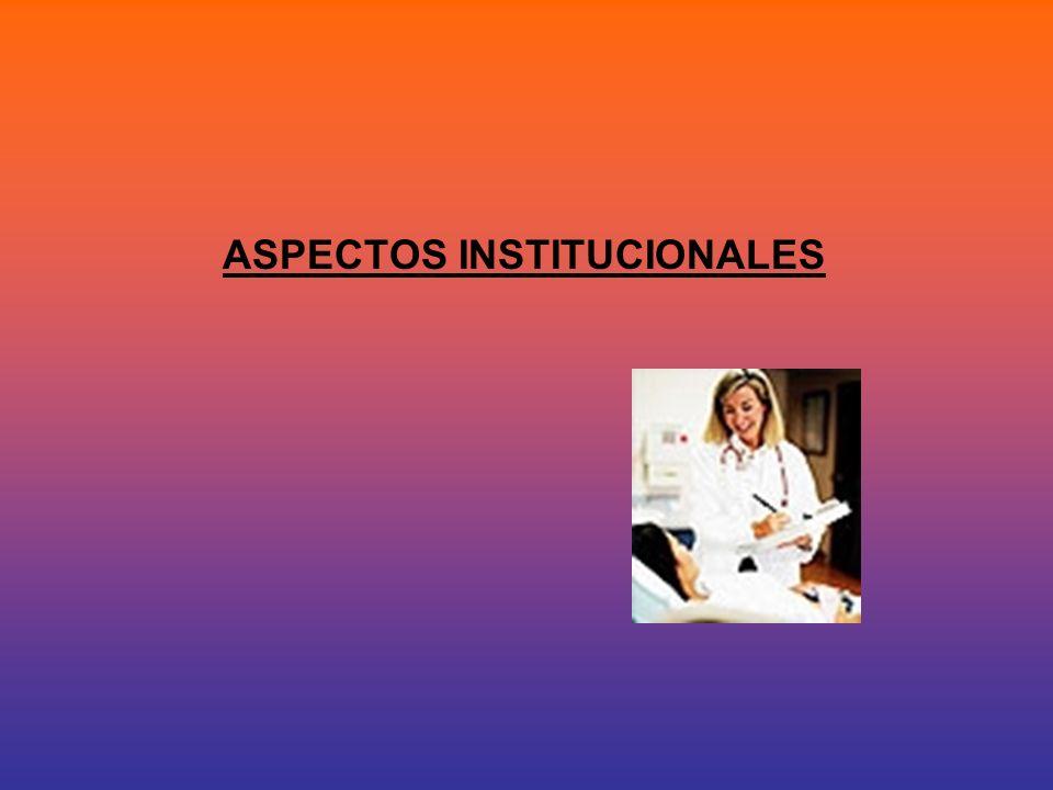 La Institucionalización 2 La institucionalización es una decisión que debe ser muy bien valorada por el equipo médico y la familia o grupo social más cercano de la persona.