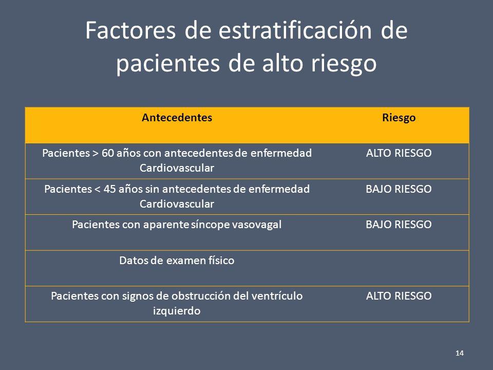 REDITO DIAGNOSTICO INVESTIGACION INICIAL - DETERMINAR SI SE TRATA O NO DE UN SINCOPE - CIRCUNSTANCIAS PREVIAS AL EVENTO: - POSICIÓN - ACTIVIDAD - FACTORES PREDISPONENTES Y PRECIPITANTES CIRCUNSTANCIAS EN EL COMIENZO DEL EVENTO: NAUSEAS, DOLOR, PALPITACIONES, MAREOS, ETC.