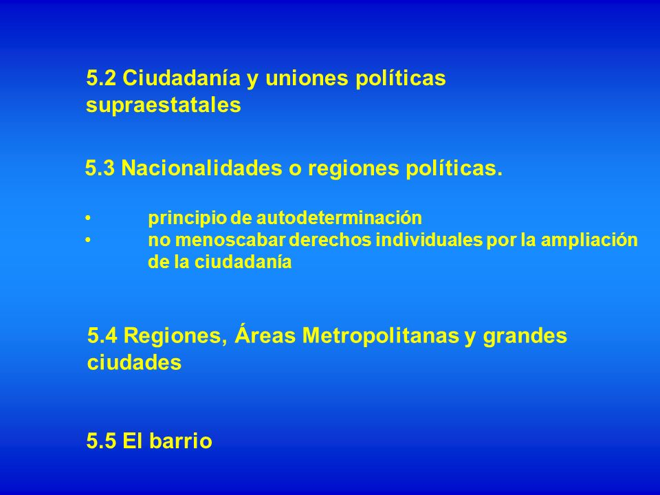 La oferta de infraestructuras Promoción de la reconversión económica La calidad de los recursos humanos La oferta cultural 5.6 Territorios periféricos y los pequeños municipios