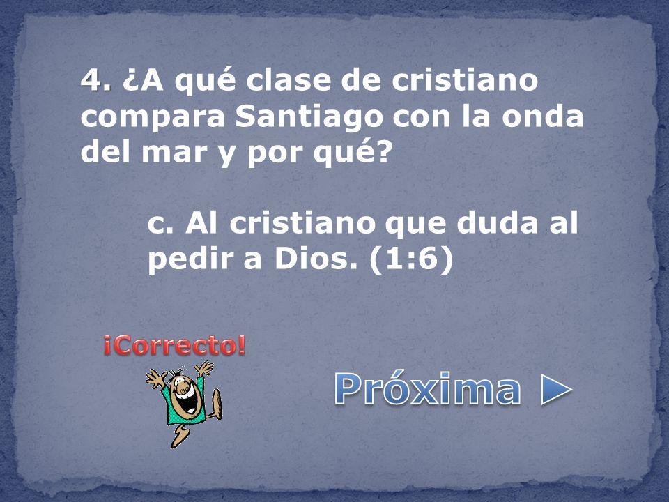 5.5. ¿Con qué comparó Santiago al hombre rico que está orgulloso de su posición.