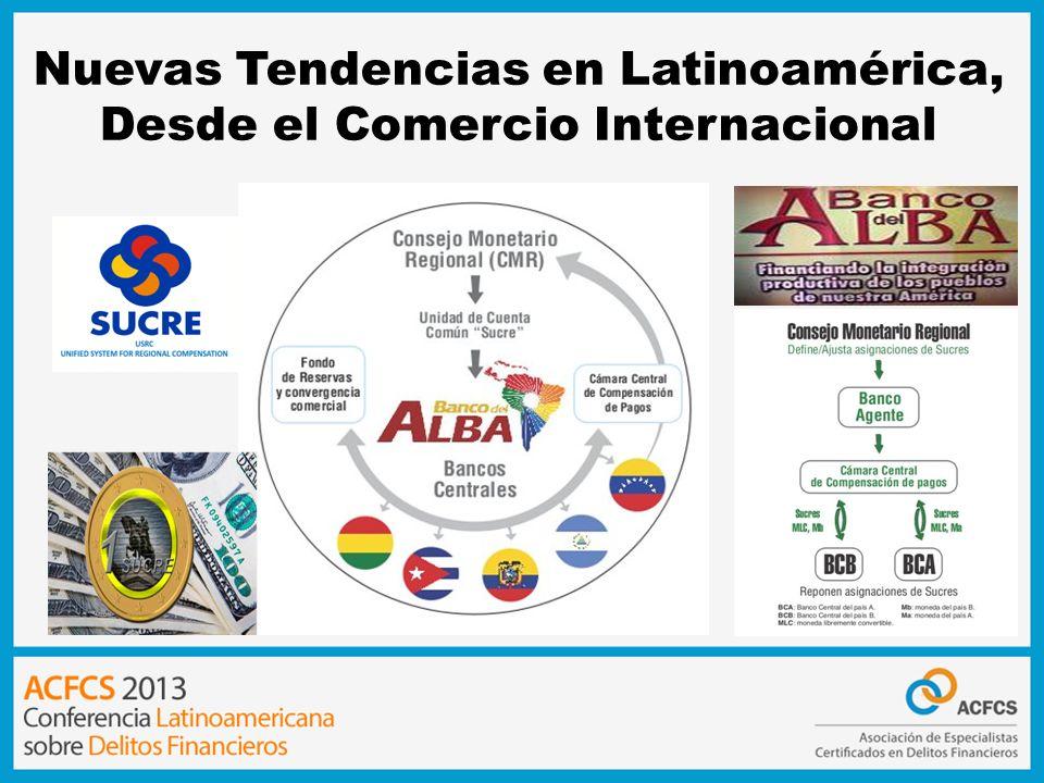 Sistema Unitario de Compensación Regional de Pagos 2008 20092010 201120122013 26/Nov Mandato Presidencial crea el sistema SUCRE 16/Abr Firma de Convenio Macro para creación de sistema SUCRE para creación de sistema SUCRE 19/Oct Firma de Tratado Constitutivo 27/Ene Entrada en vigor de Tratado Constitutivo 3/Feb 1ra Operación Comercial usando SUCRE Cuba - Venezuela 3/Feb 1ra Operación Comercial usando SUCRE Ecuador - Venezuela Hasta hoy + de 200 transacciones valor de 127 millones de Sucre (160 millones de dólares (160 millones de dólares) 1 SUCRE equivale a 1.25 Dólares Hasta hoy + de 200 compañías Meta 2013 – 300 millones de Sucre (160 millones de dólares (160 millones de dólares) 431 transacciones 216 millones de Sucre (245 millones de dólares (245 millones de dólares) 2645 operaciones 850 millones de Sucre (1100 millones de dólares (1100 millones de dólares)