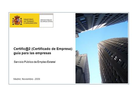Diferencias contraste informaci n c lculo modelo ppt for Inaem oficina electronica