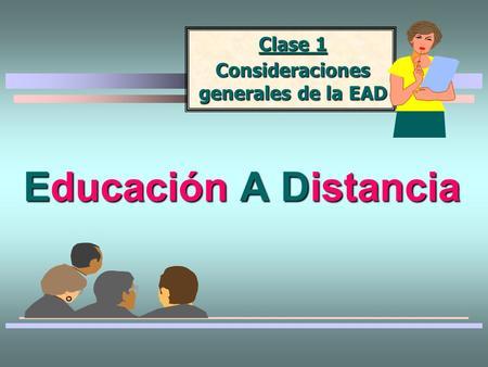 licenciatura en ciencias de la educacion a distancia: