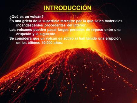 Volcanes informaci n general los volcanes son conductos o for Temperatura lava