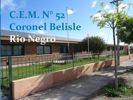 C.E.M. N° 52 Coronel Belisle Rio Negro WHAT DO WE NEED TO KNOW ABOUT DRUGS ?