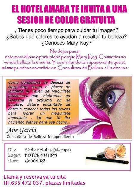 SESION DE COLOR GRATUITA