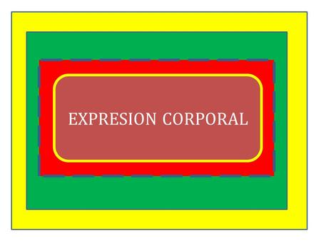 EXPRESION CORPORAL.