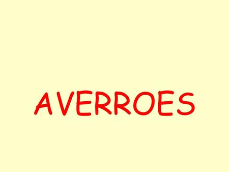 AVERROES.
