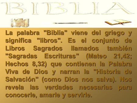 Algunas curiosidades sobre la Biblia que quizs no sepas