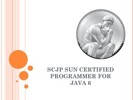 SCJP SUN CERTIFIED PROGRAMMER FOR JAVA 6. SCJP 6.0 SEMANA CINCO CONSOLE.