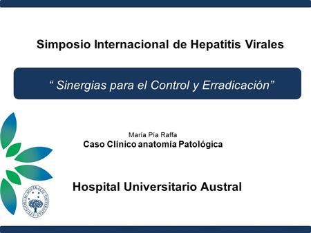 Simposio Internacional de Hepatitis Virales