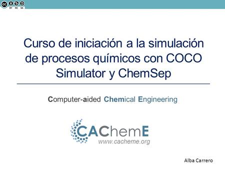 Computer-aided Chemical Engineering