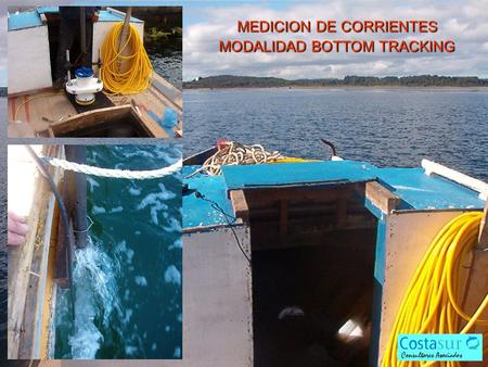 MEDICION DE CORRIENTES MODALIDAD BOTTOM TRACKING.