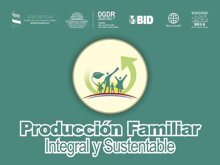 PRODUCCIÓN FAMILIAR INTEGRAL Y SUSTENTABLE Dirección General de Desarrollo Rural MGAP.