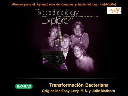 Transformación Bacteriana Original de Essy Levy, M.S. y Julie Mathern