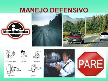 MANEJO DEFENSIVO.