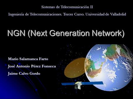 NGN (Next Generation Network)
