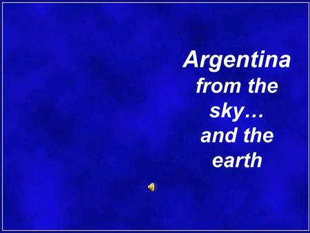 Argentina from the sky… and the earth Current Tea Cultivation.
