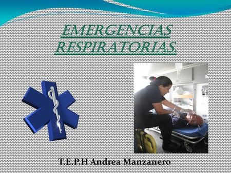 Emergencias respiratorias.