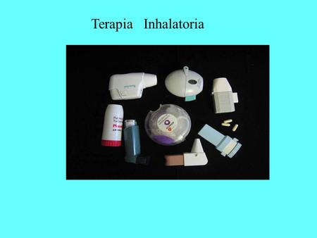 Terapia Inhalatoria.
