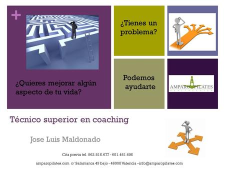 Técnico superior en coaching