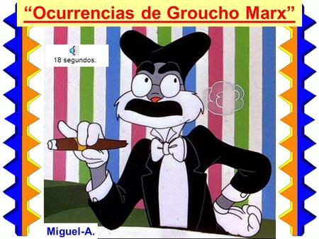 """Ocurrencias de Groucho Marx"""