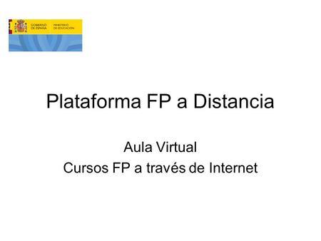 secundaria estudio pilotaje ppt descargar On aula virtual fp valencia