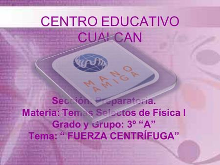 CENTRO EDUCATIVO CUALCAN
