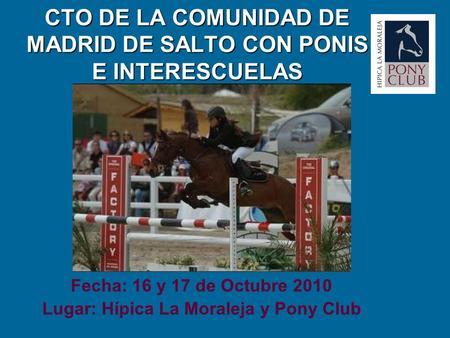 Carreras de caballo leonel galvez es una especialidad for Club social la moraleja