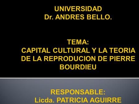 UNIVERSIDAD Dr. ANDRES BELLO