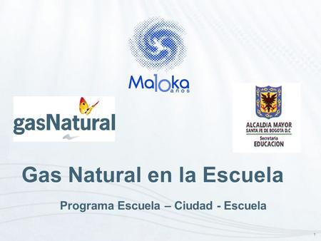 Gas Natural en la Escuela
