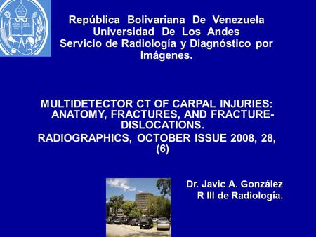 RADIOGRAPHICS, OCTOBER ISSUE 2008, 28, (6)