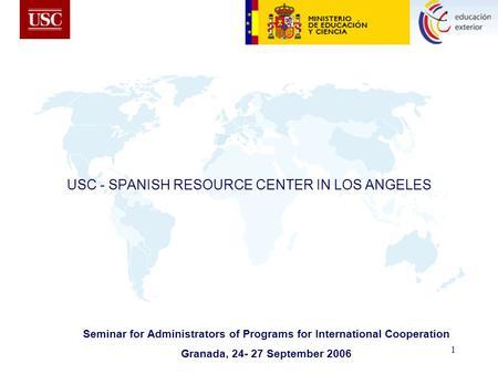 www usc es spanish: