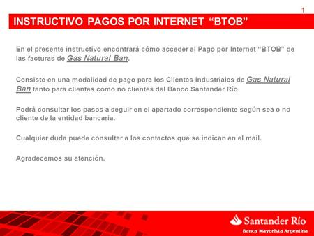"INSTRUCTIVO PAGOS POR INTERNET ""BTOB"""