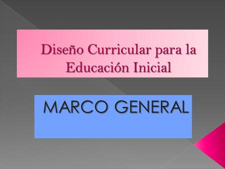 Educar en el jard n maternal ppt video online descargar for Diseno curricular jardin maternal