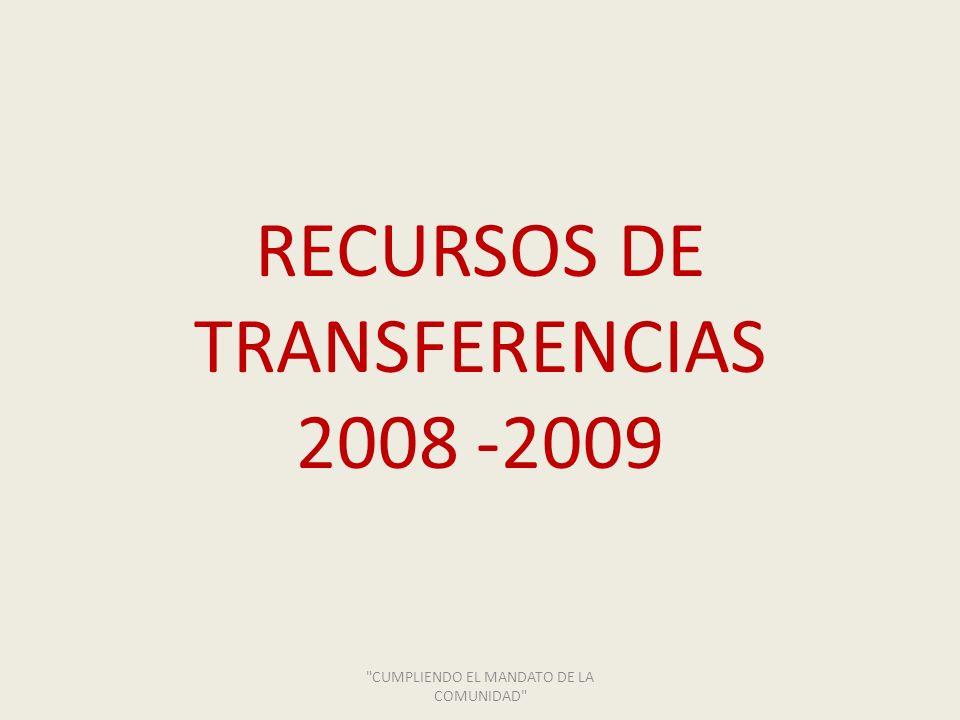 TRANSFERENCIAS Contrato No.