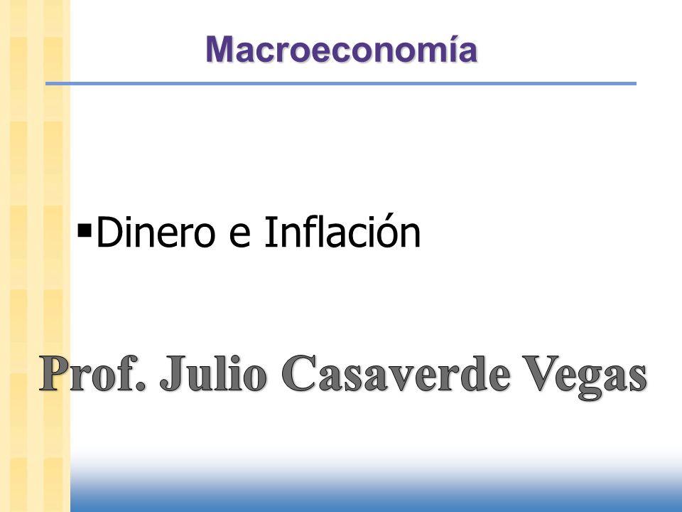 slide 1 En este capítulo veremos: La teoría clásica de la inflación – causas – efectos – costos sociales La teoría clasica asume precios flexibles y mercados que se limpian.