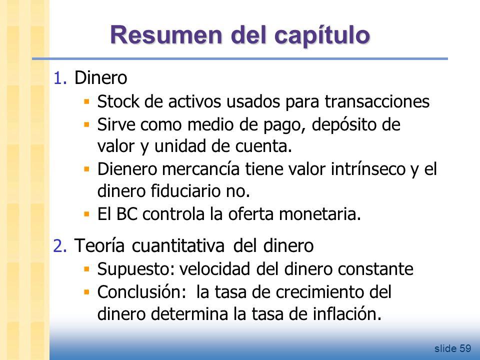 slide 60 Resumen del capítulo 3.