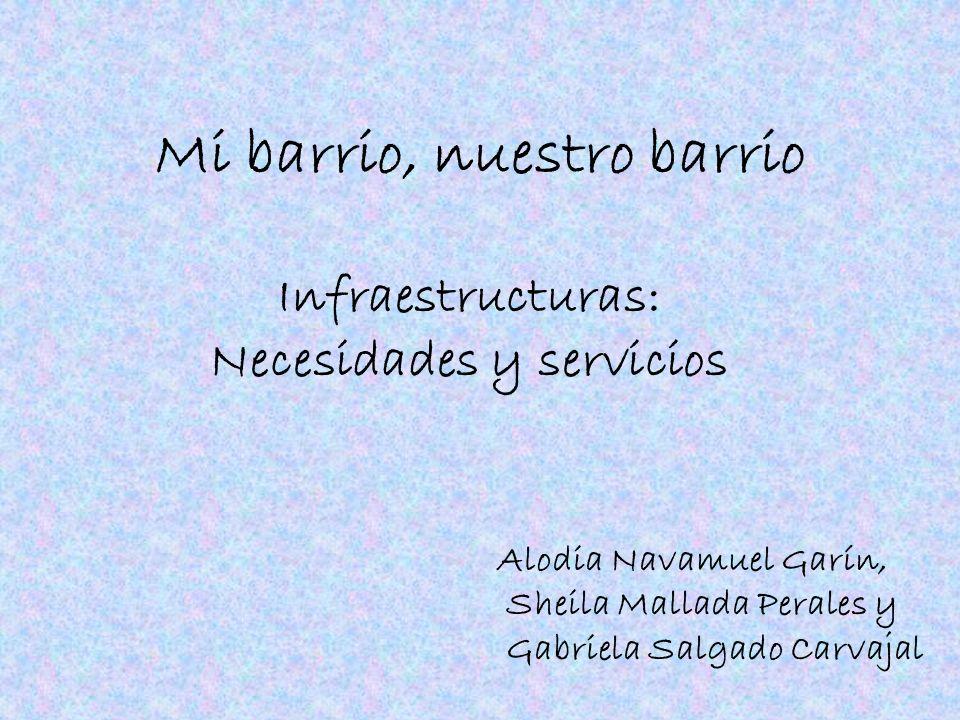 Índice Infraestructuras: –C–Centros de enseñanza.–C–Centros de sanidad y residencias para mayores.