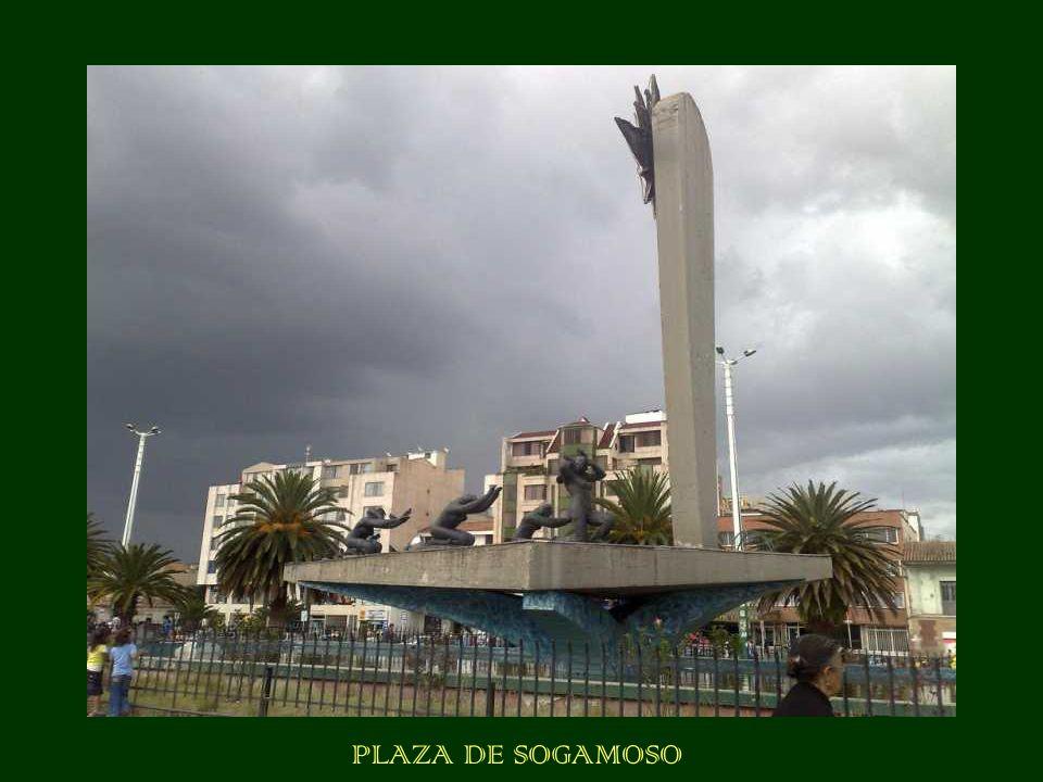 PLAZA DE SOGAMOSO
