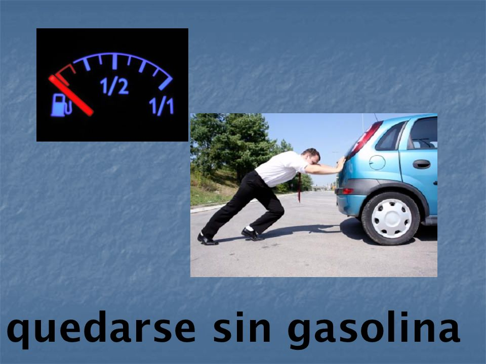 tener un neumático reventado