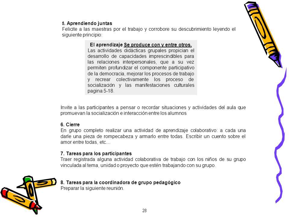 SEPTIMA REUNIÓN EJERCITANDO UN PRINCIPIO 1.Objetivo Ejercitar un principio pedagógico.