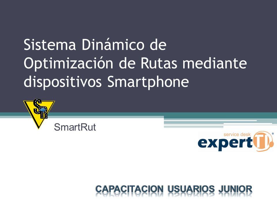 Objetivos del Curso Conocer la Aplicación Móvil para dispositivos Smartphone.
