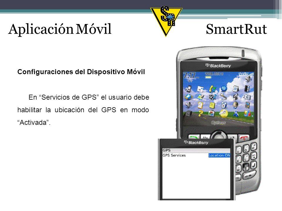 Aplicación MóvilSmartRut Configuración de correo electrónico El dispositivo móvil incluye la opción para configurar cuentas de correo electrónico.