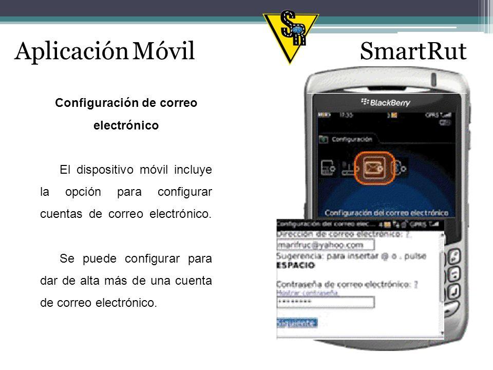 Definición de SmartRut Sistema de optimización de rutas mediante dispositivos Smartphone.
