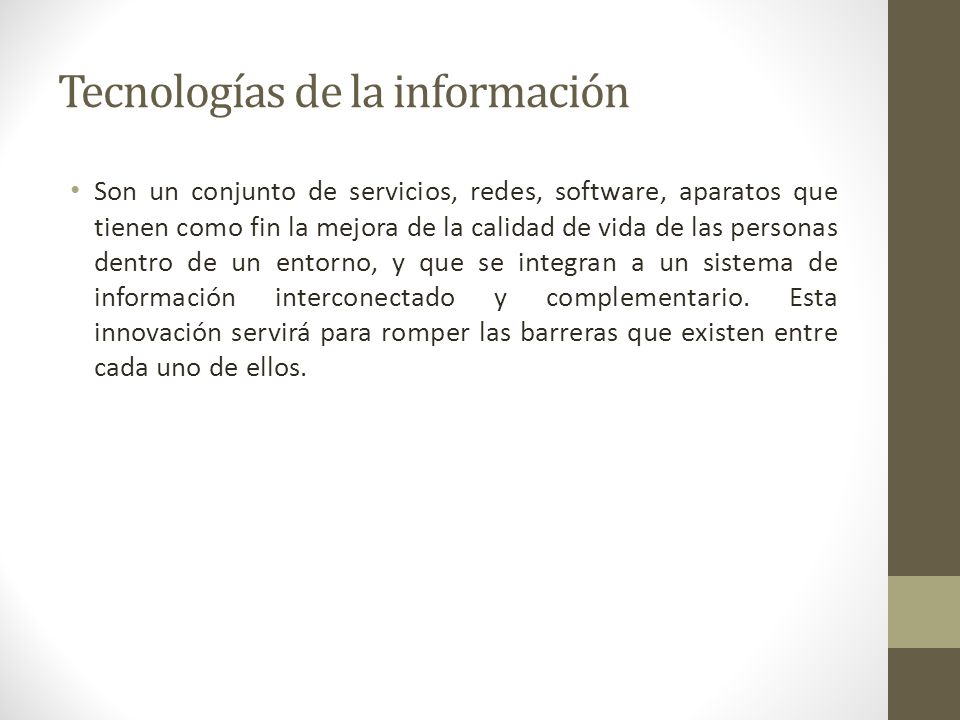 ¿Que se entiende por Calidad total en la admón.de las tecnologías de información .